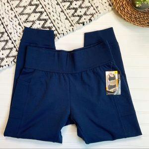 NWT AVIA Blue Jogger Sweatpants